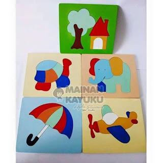 Puzzle Seri 05 - Mainan Edukatif   SeButik.com