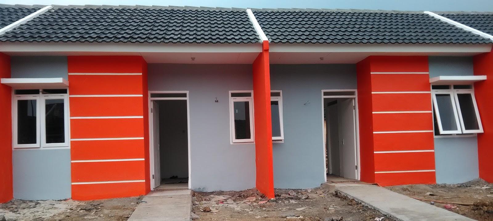 720 Gambar Cat Rumah Subsidi Terbaru