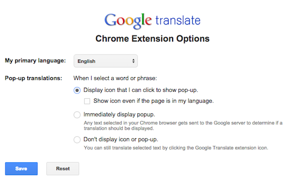how to translate pdf chrome