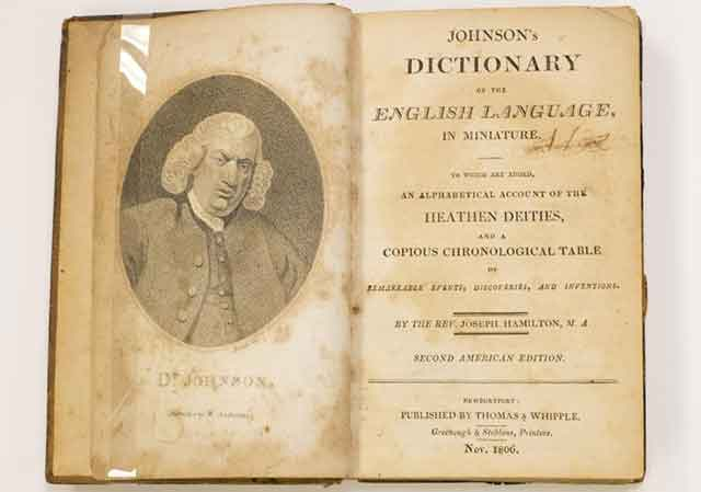 Dictionary 1818