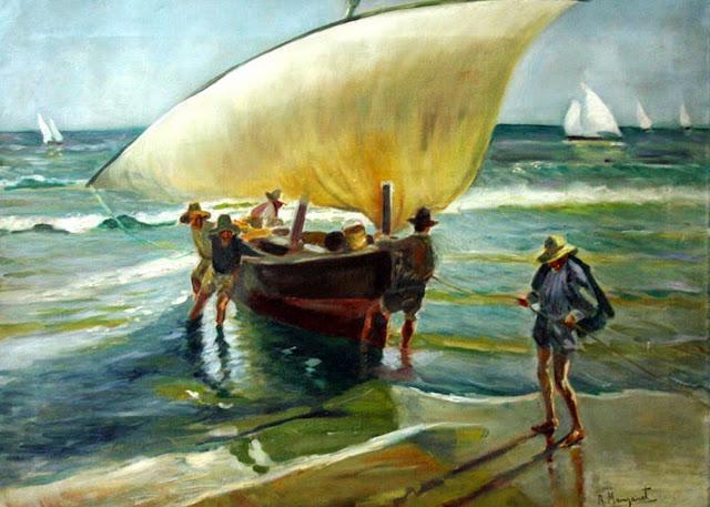 Ricardo Manzanet Millán, Paisajistas españoles, Paisajes de Ricardo Manzanet, Pintor español, Pintores Valencianos, Pintores de Valencia, Pintor Ricardo Manzanet