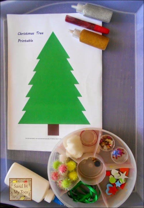 Invitation to Create Christmas Trees