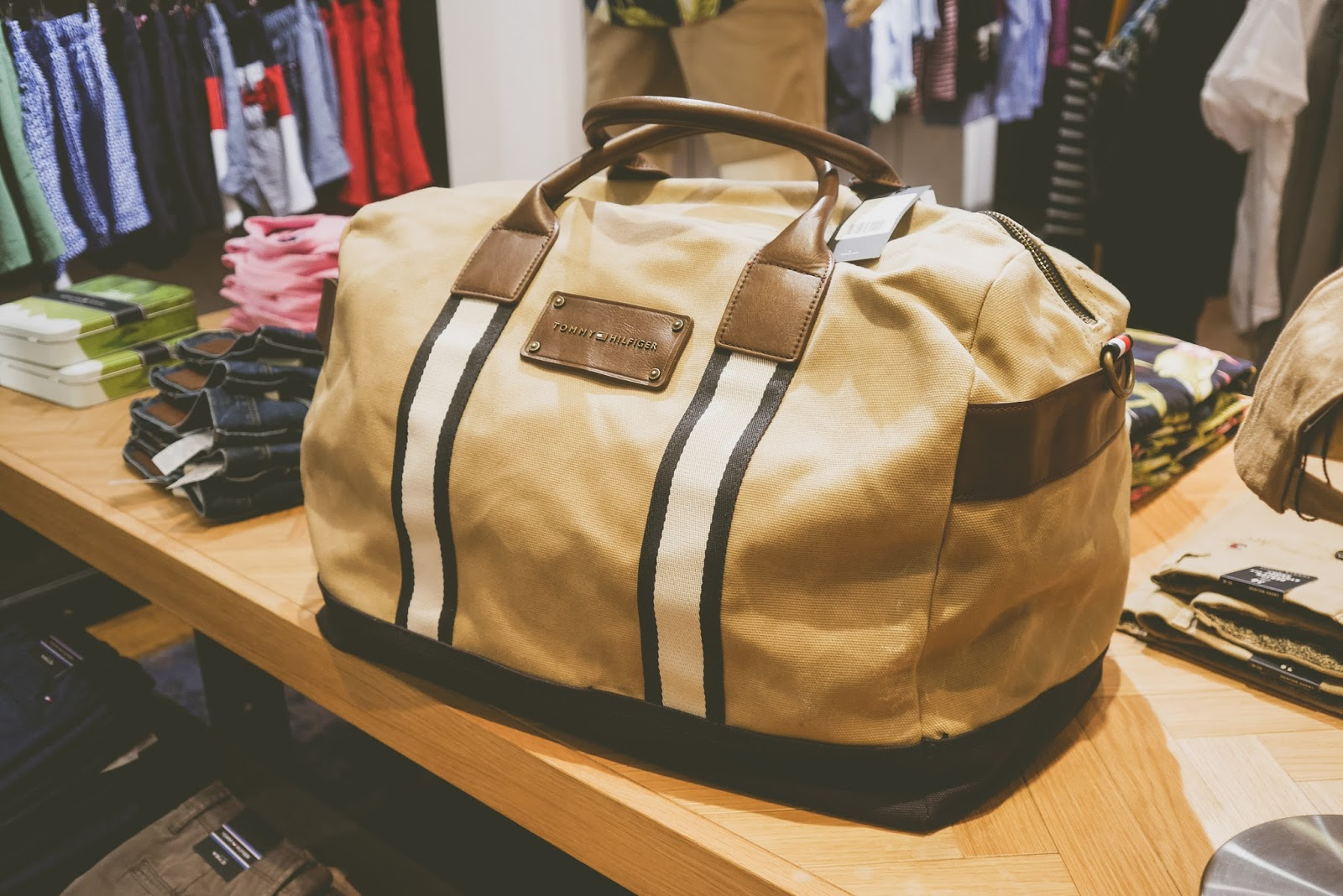 Dad Really Liked The Quality Of Products And Their Classic Preppy Feel Seemed Particularly Fond Canvas Bag Pictured Below