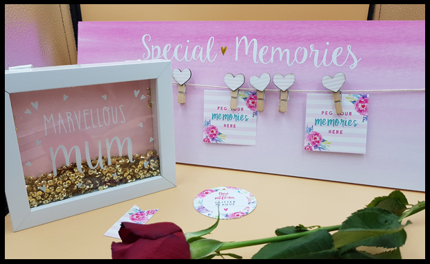 Plaques and picture frames for Mothers Day, what makes them perfect is adding the photos