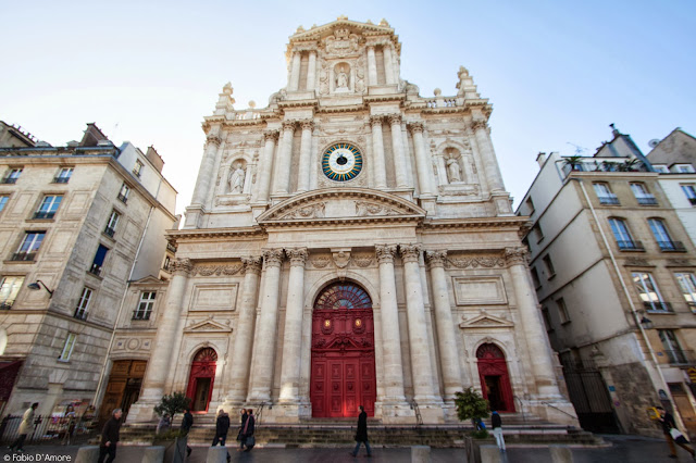 Chiesa di St. Paul-Quartiere ebraico-Parigi