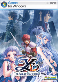 Ys VI: The Ark of Napishtim Cover