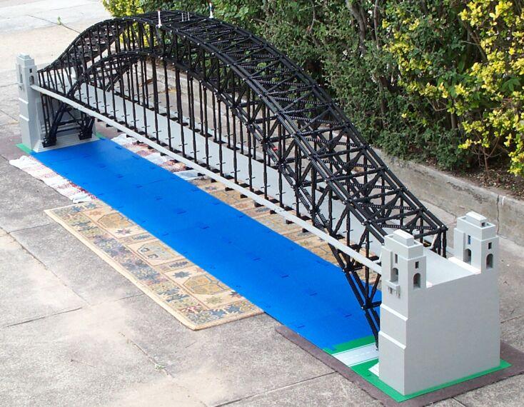 Bridge River Picture Bridge Lego