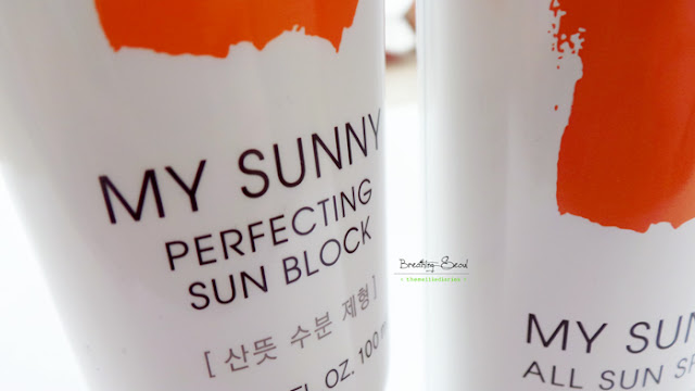 tonymoly my sunny sunblock review korea seoul sun
