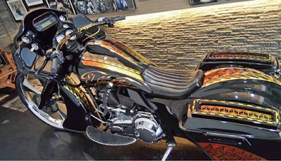 Modifikasi Harley Road Glide