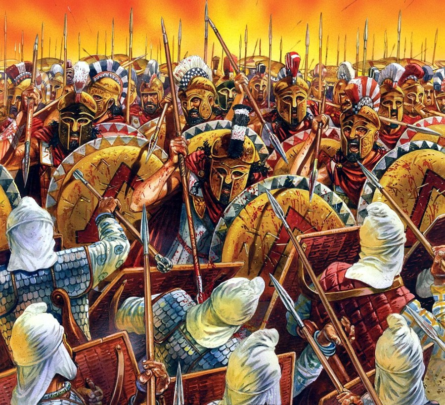 North Texas Drifter: Leonidas and the Battle at Thermopylae