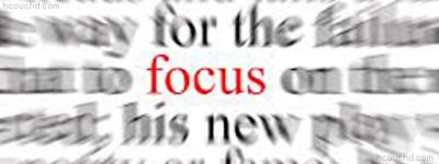نقطة التركيز (Focus point)
