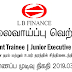 Vacancy In LB Finance   Post Of - Management Trainee | Junior Executive / Executive