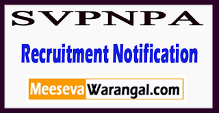 Sardar Vallabhbhai Patel National Police Academy  Recruitment Notification 2017 Last Date 18-07-2017