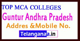 Top MCA Colleges in Guntur Andhra Pradesh