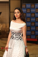 Actress Pooja Salvi Stills in White Dress at SIIMA Short Film Awards 2017 .COM 0140.JPG