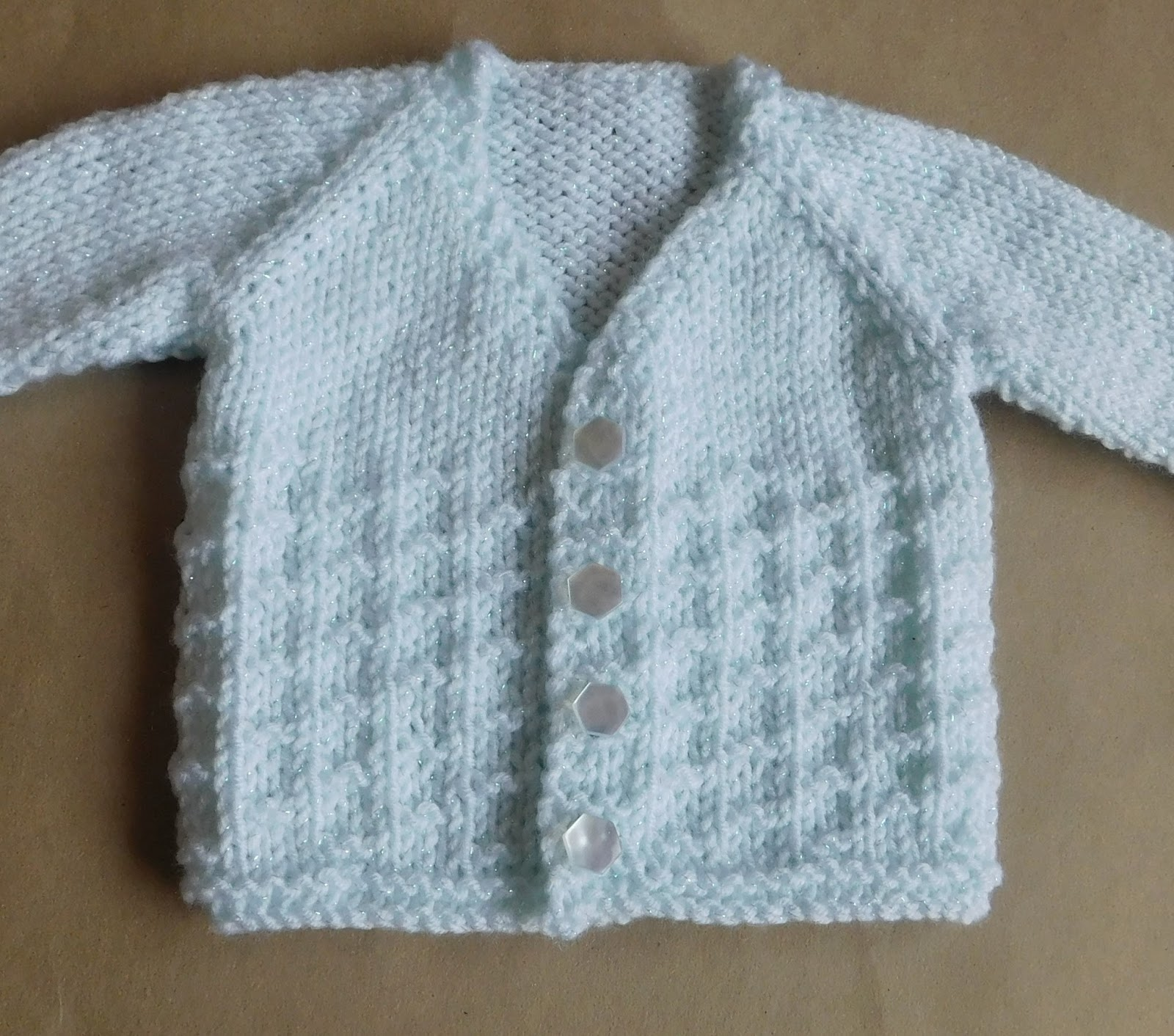 Marianna\'s Lazy Daisy Days: NEVIS Top-down V-neck Baby Cardigan Jacket