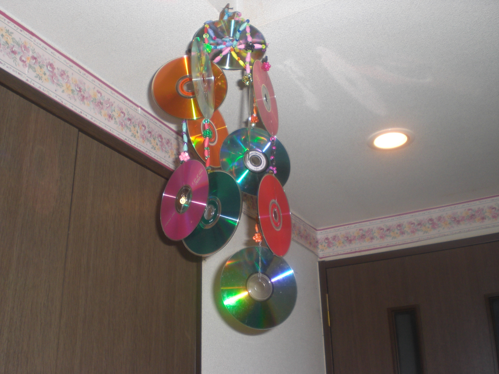 Decorative Ceiling Discs Ysahs Creative Hobby 12 Cds For Hanging Decoration