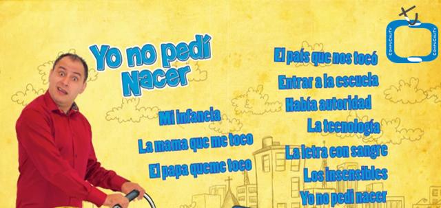 Yo no Pedi Nacer Jose Ordoñez 2011 DVDR Español Latino