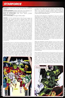 Fuerza Estelar Kree Ficha Marvel