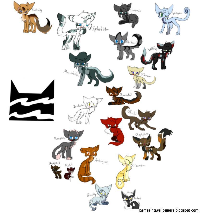 warrior cats thunderclan character sheet deviantart fur kits amazing wallpapers