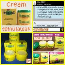Cream Temulawak Asli
