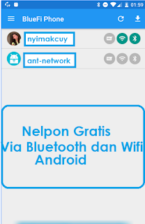 BlueFi Phone Nyimakcuy