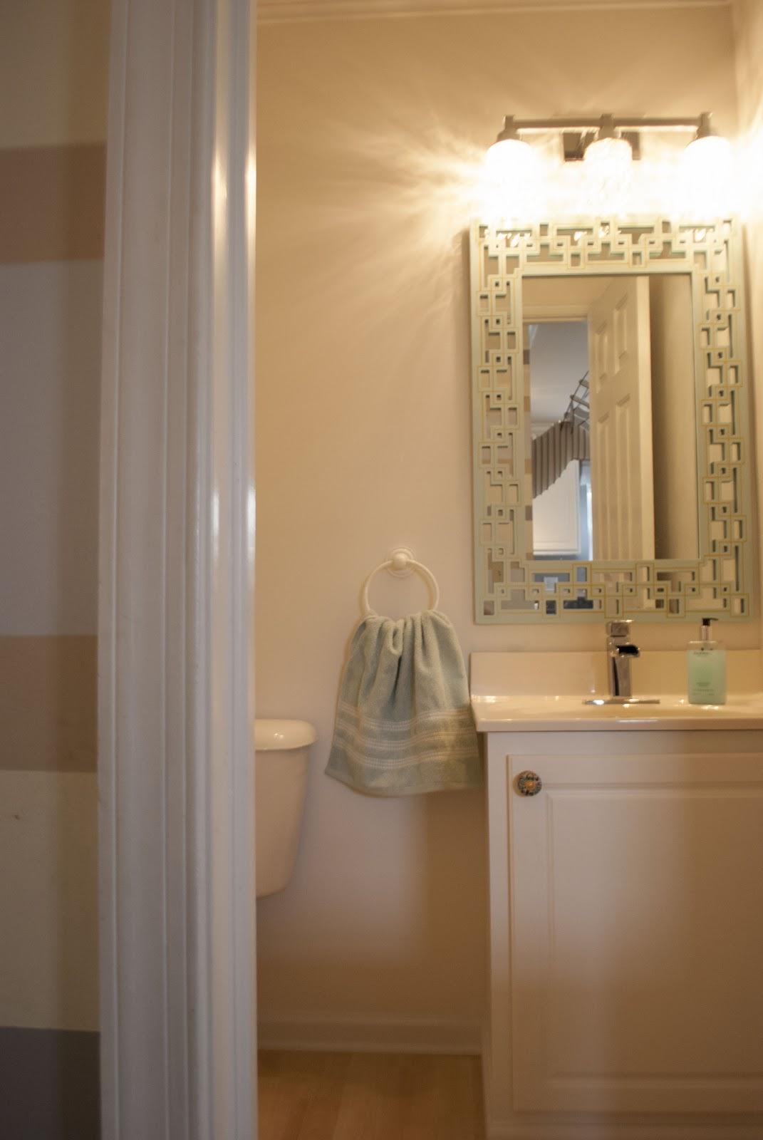 gold and mint sharpie mirror cuckoo4design. Black Bedroom Furniture Sets. Home Design Ideas