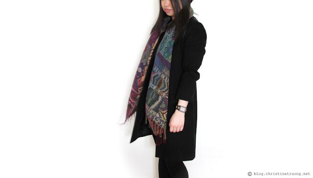 Warm Winter Wardrobe featuring JORD Wood Watch in Reece Golden Camphor and Khaki