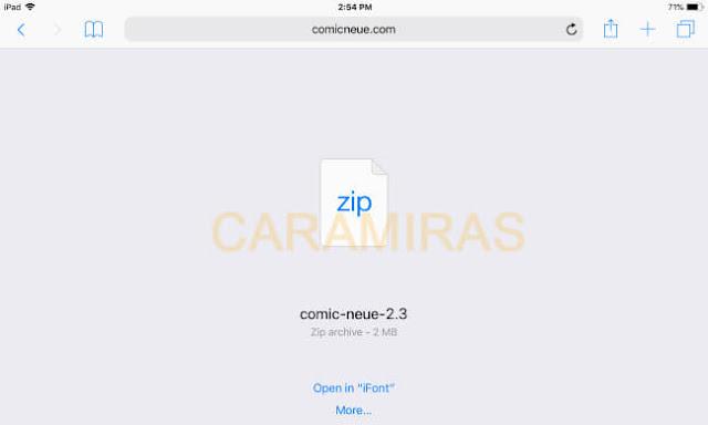 Cara Mengganti Font di iPhone dan iPad - download font