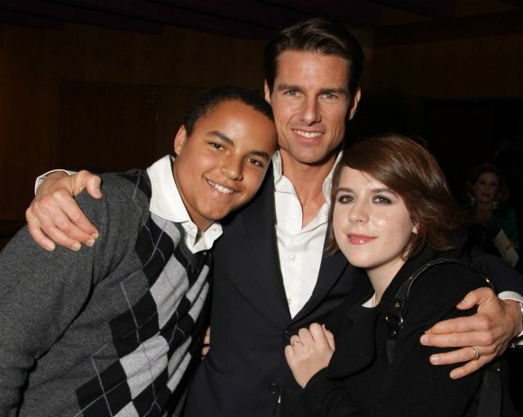 Kids of Hollywood Actor Tom Cruise Picture | Cute Babies ...  Kids of Hollywo...