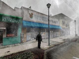 Silent Hill 2 fog.