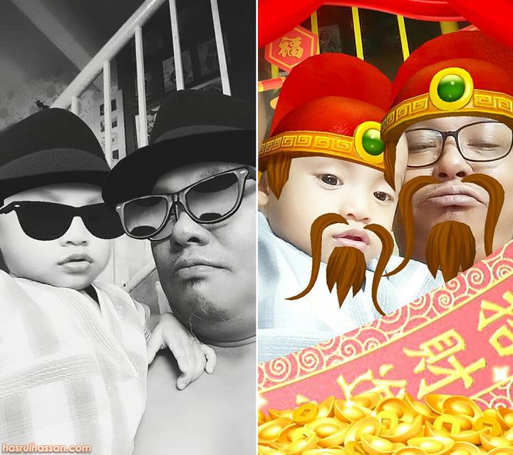 Seronok Main Kamera Facebook Effects