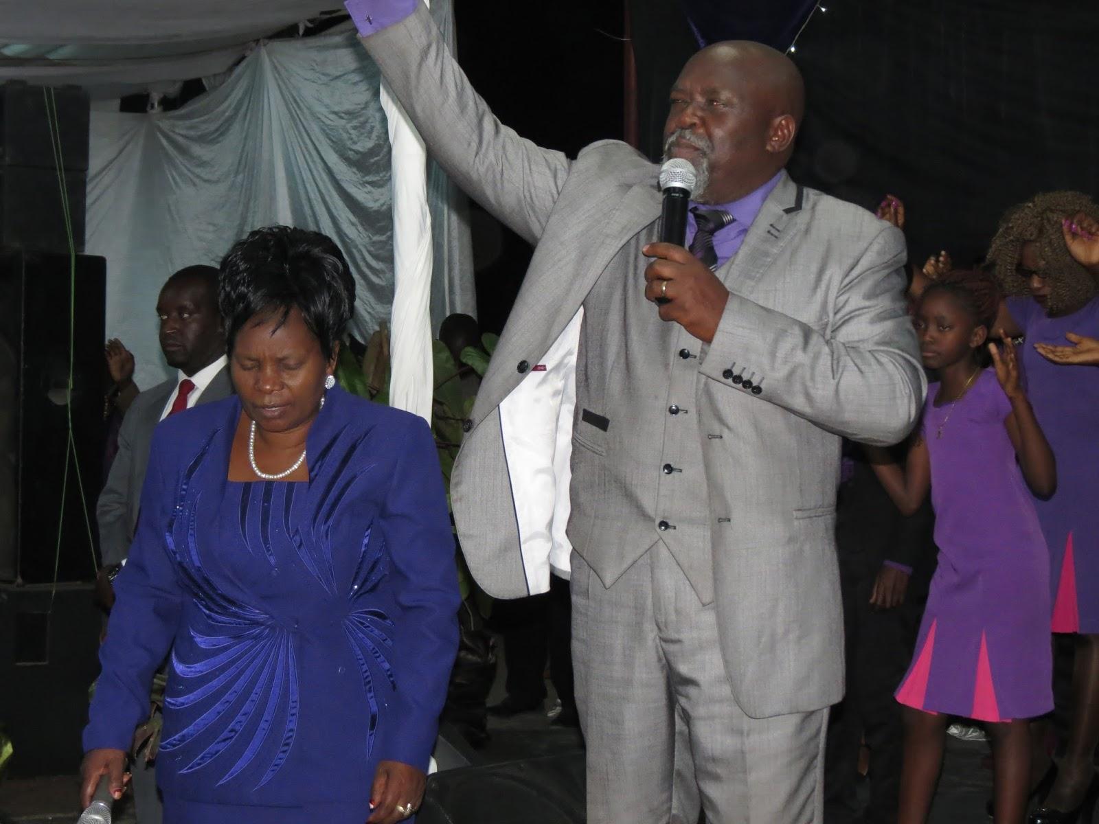 Arch-Bishop Asa and Mavis Gurupira