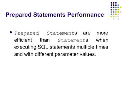 JDBC Performance Tips Java