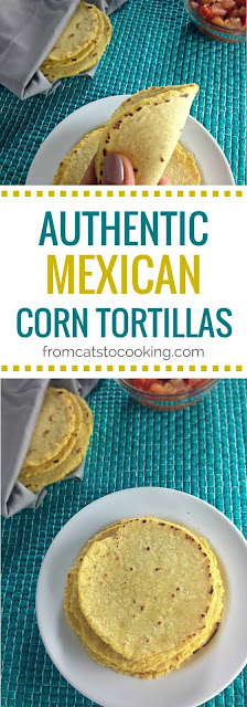 3-Ingredient Authentic Mexican Corn Tortillas