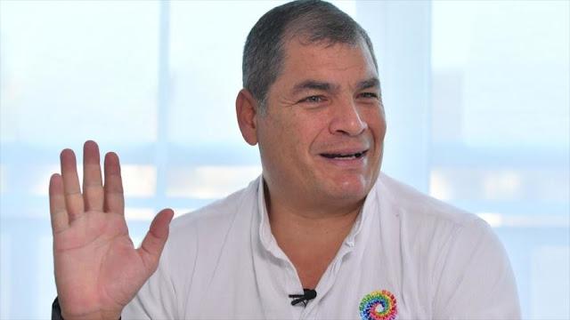"""""""No saben qué inventar"""": Correa niega anomalías en vuelos oficiales"""