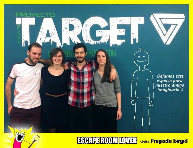 Opinión sobre escape room: Proyecto Target - Barcelona
