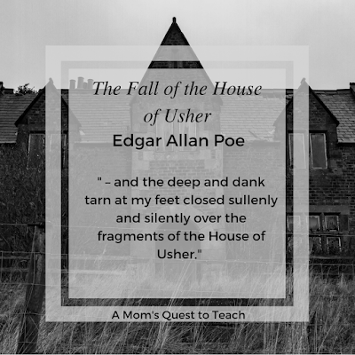 Quote from The Fall of the House of Usher