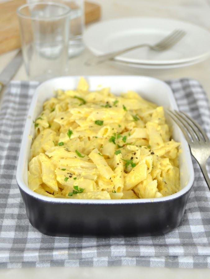 Los macarrones con queso más fáciles y ricos del mundo