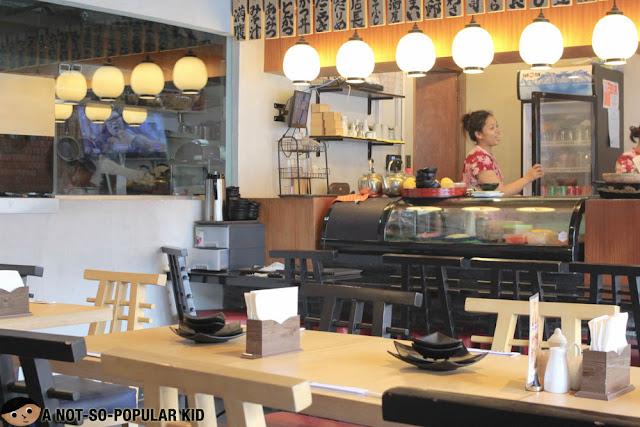 Kenshin Japanese Izakaya in Las Pinas - Interior