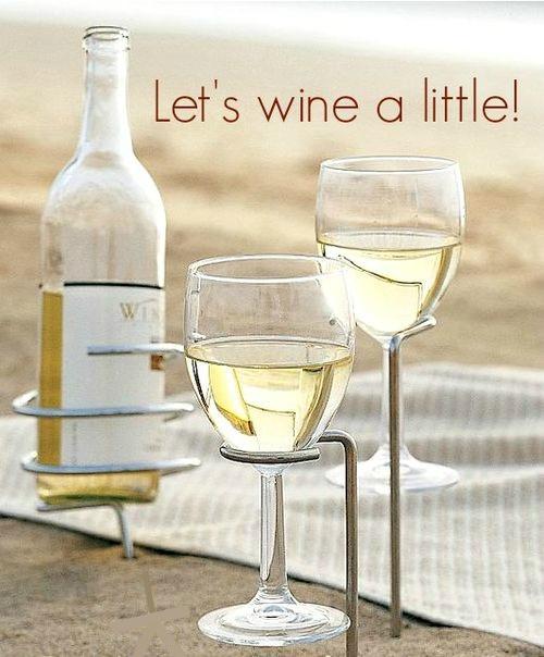 Wine Glass Holder Sticks