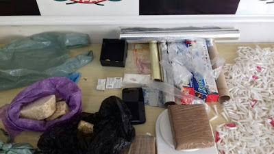 POLÍCIA CIVIL DE REGISTRO-SP PRENDE TRAFICANTE COM GRANDE QUANTIDADE DE DROGAS NO ARAPONGAL