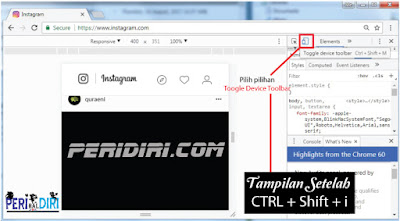 Cara Mempublish Foto/Video Ke Instagram Via PC Desktop Tanpa Aplikasi Gadget