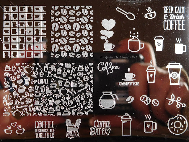 Uber Mini: Coffee Addict plate