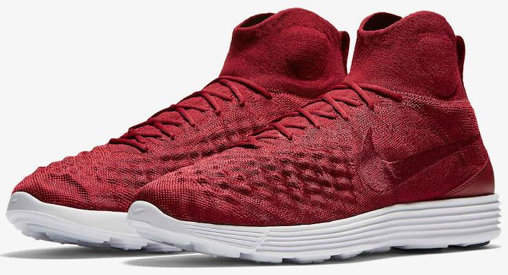 d55468efc36c Dark Red Nike Lunar Magista II Flyknit Shoes Revealed - Footy Headlines