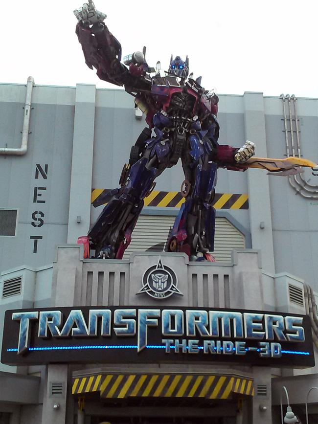 universal studios transformers