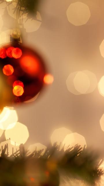 christmas lights iphone 6 wallpaper image