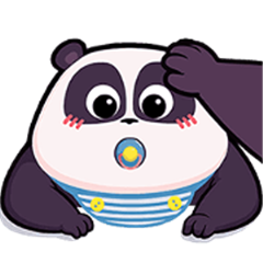 Lovely Panda Pange