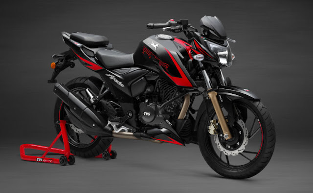 New 2018 TVS Apache RTR 200 4V Race Edition 2.0 hd picture