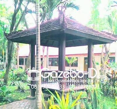 Gazebo Taman Jepara